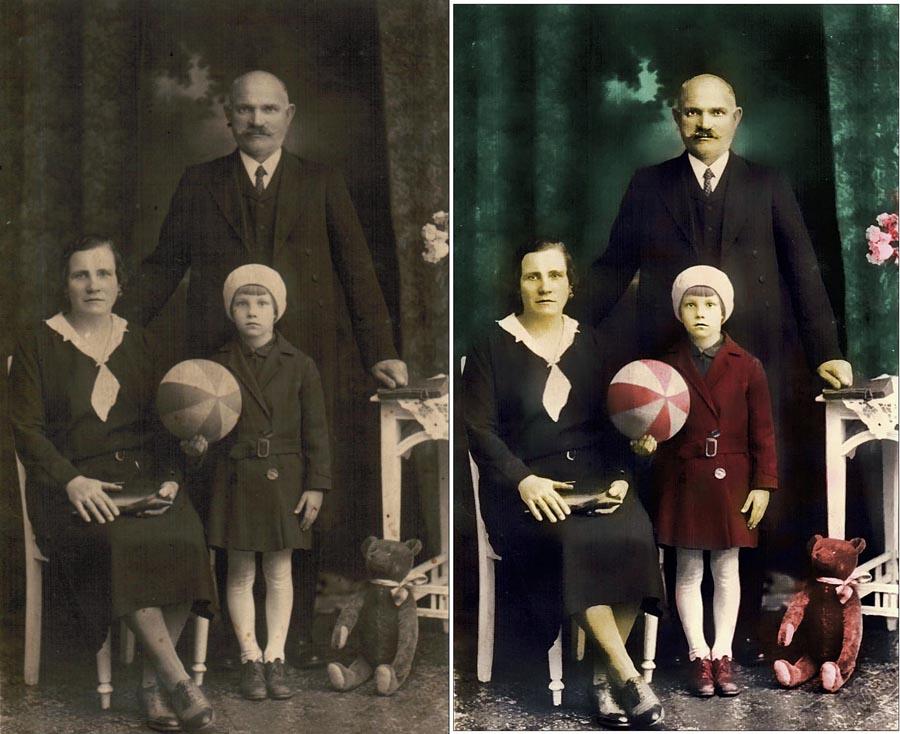 odnowienie starego zdjęć